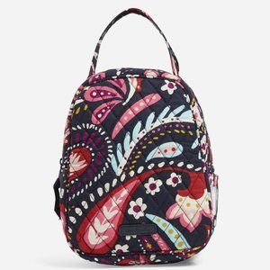 Vera Bradley Lunch Box in Painted Paisley NWT